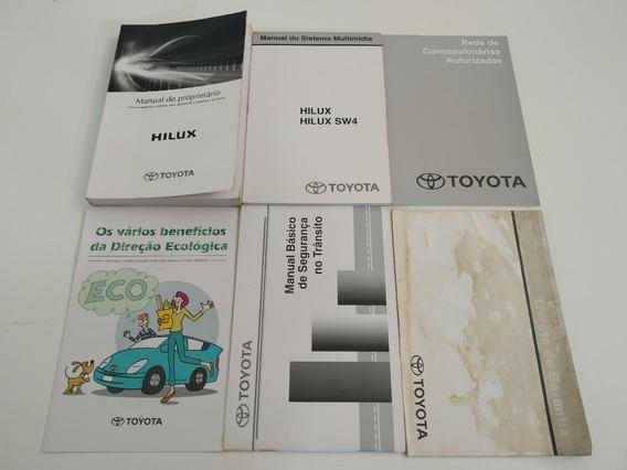 Manual Do Proprietário Toyota Hilux 2014