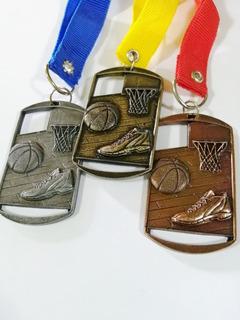 Medallas De Basquetbol 20 Piezas