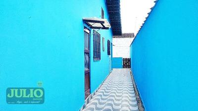 Casa Com 1 Dormitório Para Alugar Por R$ 650/mês - Flórida Mirim - Mongaguá/sp - Ca2678