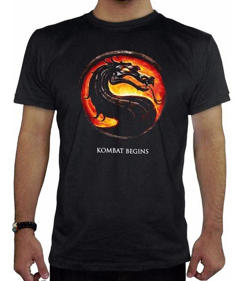 Remera Hombre Mortal Kombat1 Inkpronta