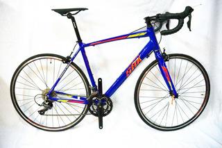 Bicicleta Ruta Aluminio Sbk Speed Comet Shimano Claris