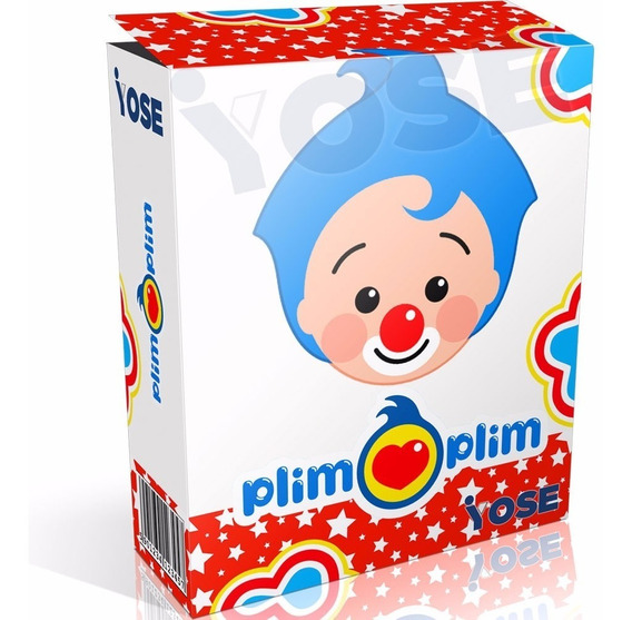 Kit Imprimible Plim Plim + Candy Bar + Envío Instantáneo
