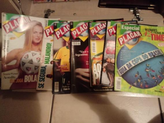 Revistas Placar - 8 Edições Entre 1995 E 1999