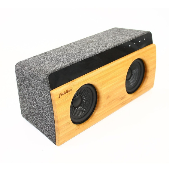 Parlante Bamboo Stereo 2.0 Fiddler 10w Bluetooth
