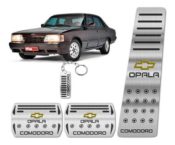 Pedaleira Aço Inox Puro Chevrolet Opala Comodoro