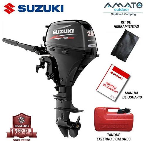 Motor Suzuki 20hp 4t P.l  Efi A. Eléc Ahora En Pesos