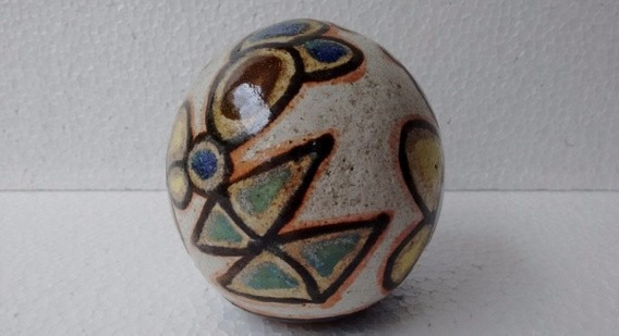 Francisco Brennand - Bola - 9,5 Cm De Altura - Cerâmica