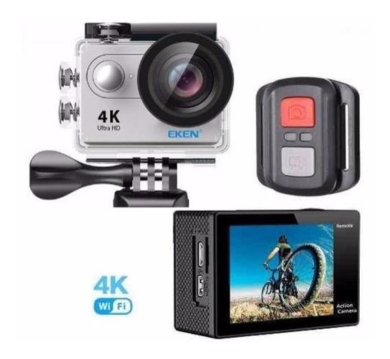 Camera 4k Eken H9r Original Controle Wifi Mergulho Moto 4k