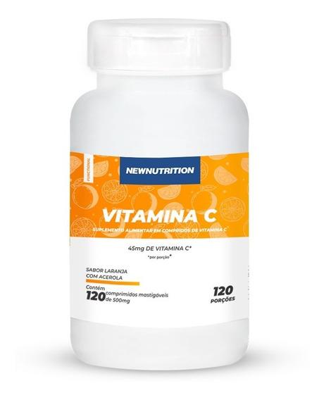 Vitamina C Newnutrition 120 Tabletes