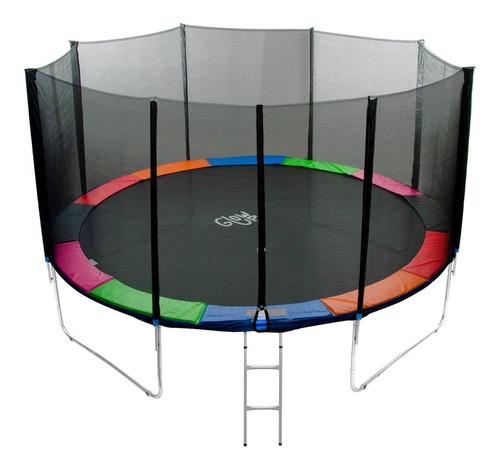 Cama Elástica Glowup 12ft 3.66mt - Malla + Escalera / R3329