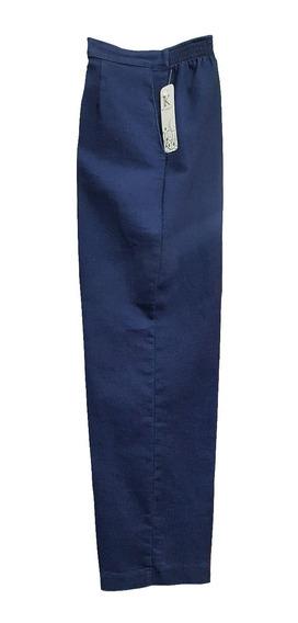 Pantalón De Mezclilla Jk Dama Con Resorte Corte De Vestir