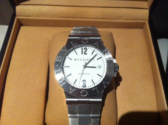 Relógio Bvlgari Diagono Automatico Lcv 38s Completo