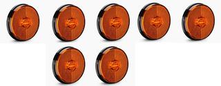 Kit Com 7 Lanternas Laterais Led Bivolt Sinalsul Mod Randon