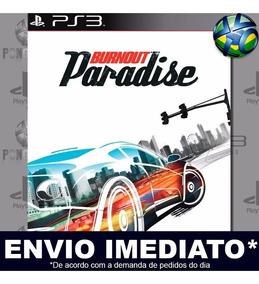 Jogo Ps3 Burnout Paradise Psn Play 3 Mídia Digital Envio Já
