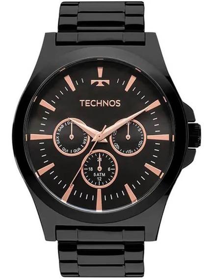 Relógio Technos Masculino Legacy Rosé Os2abf/4c