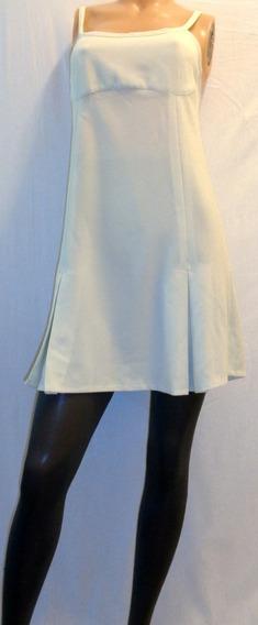 Vestido Corto Vintage Talle 1 Muy Bueno