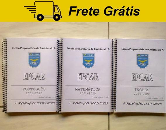 Apostila Provas Epcar Comentada Resolvida Gabarito