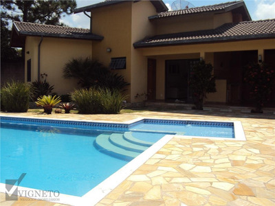 Casa Com 1 Dormitório À Venda, 140 M² Por R$ 650.000 - Recanto Das Canjaranas - Vinhedo/sp - Ca3225
