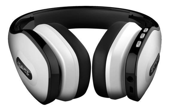 Fone Ouvido Headphone Pulse Wireless Branco Ph152 Multilaser