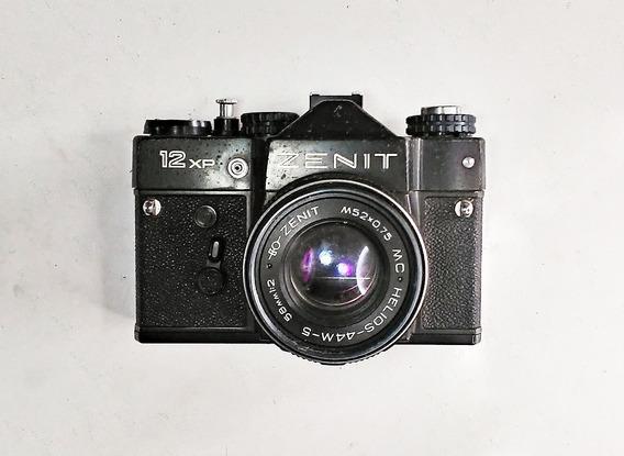 Câmera Da Ussr Zenit 12xp Original Para Decoração De Cenário