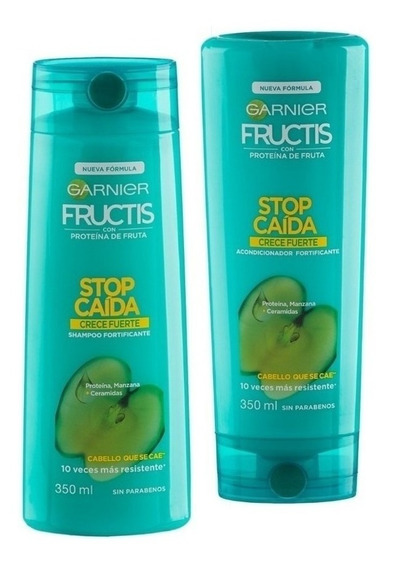 Shampoo Y Acondicionador Fructis Caida Crece Fuerte X350