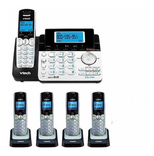 Sistema De Teléfono Vtech 2 Líneas 4 Extensiones