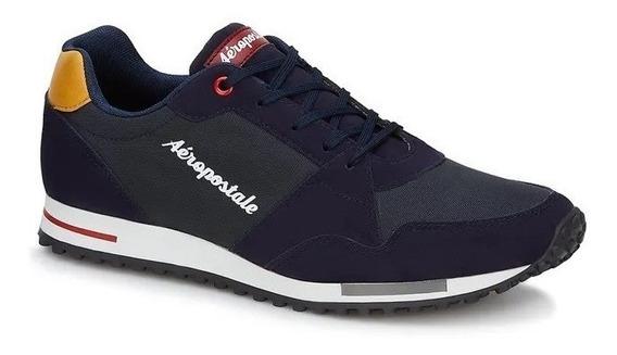 Tenis Andrea Sneaker Azul Marino 2746067 Aeropostale B