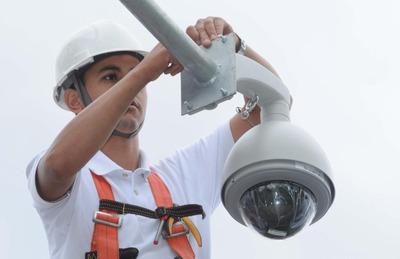 Instalação De Câmeras De Segurança Eletrônica Em Geral