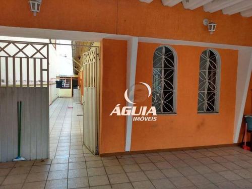 Casa Com 3 Dormitórios À Venda, 118 M² Por R$ 430.000,00 - Santa Maria - Santo André/sp - Ca0714