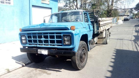Ford 7.000, Azul Em Dias Caminhão Em Perfeito Estado!