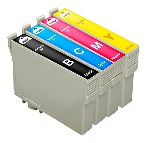 Pack De Cartuchos Compatibles Epson T297 T296 Xp 241 231 247