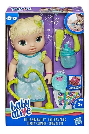 Boneca Baby Alive Cuida De Mim Loira - Hasbro C2691