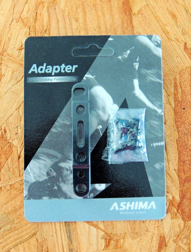 Ashima, Adaptador Caliper Freno Flat/flat 140/160 Delantero
