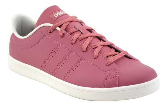 Tenis adidas Mujer Advantage Clean Qt Rosa Gym Casual