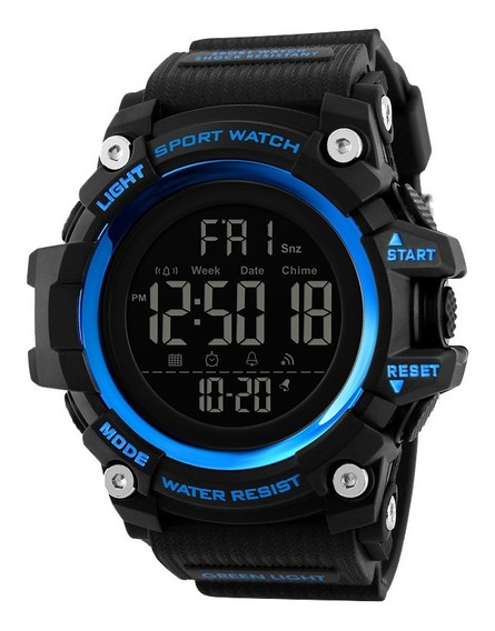Relógio Digital Esportivo Original Skmei Masculino Moderno
