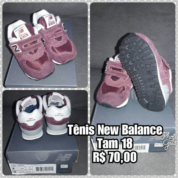 Tênis New Balance Infantil Menino