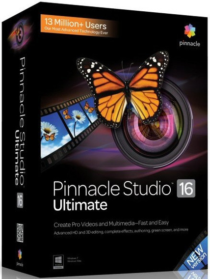 Pinnacle 16 Studio 32 E 64 Bit Em Português - Até Windows 7