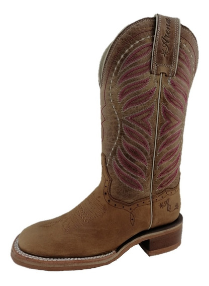 Bota Vaquera Rodeo Dama Tombstone Arena Queen Co Crazy Miel