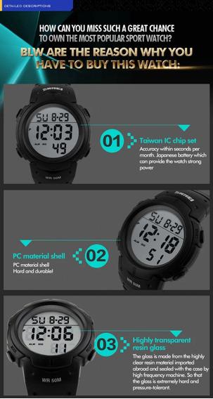 Relógio Skmei 1068 De Led Digital Esportivo
