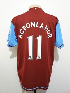 Camisa Oficial Aston Villa Inglaterra 2007 Home Nike Gg (xl)