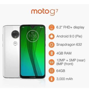 Smartphone Motorola G7 64gb Ônix 4g - 4gb Ram Tela 6,24