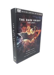 Batman The Dark Knight Trilogy Dvd Colección Nuevo C/envío