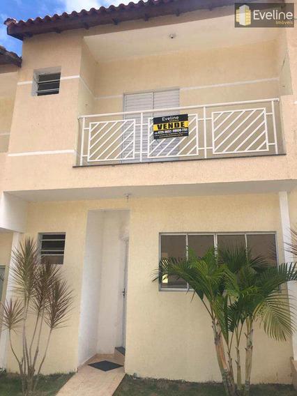 Casa De Condomínio A Venda - Mogi Moderno - 3 Dms (1 Suíte) - V773