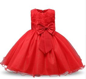 Vestido Festa Infantil Princesa,aniversário, Daminha, Natal