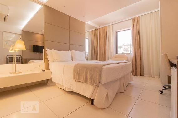 Studio No 10º Andar Mobiliado Com 1 Dormitório - Id: 892981953 - 281953