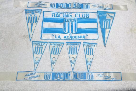 Coleccion Vinchas Bandera Banderines Racing Club Rac 04c