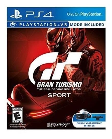 Gran Turismo Sport - Ps4 Lacrado