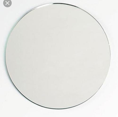 Espejo Redondo 50cm Para Decorar Baño, Dormitorio, Living
