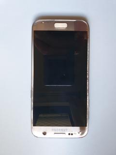 Celular Samsung Galaxy S7 Dourado Sm-g930f - Tela Danificada