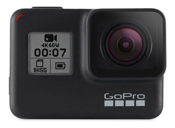 Gopro Hero 7 Black Câmera Filmadora Chdhx-701 C/ Nfe